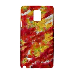Colorful Splatters                                      			samsung Galaxy Note 4 Hardshell Case by LalyLauraFLM