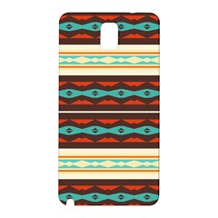 Stripes And Rhombus Chains                                      			samsung Galaxy Note 3 N9005 Hardshell Back Case by LalyLauraFLM