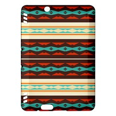 Stripes And Rhombus Chains                                      kindle Fire Hdx Hardshell Case by LalyLauraFLM