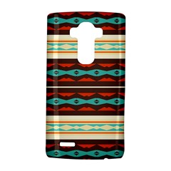 Stripes And Rhombus Chains                                      			lg G4 Hardshell Case by LalyLauraFLM