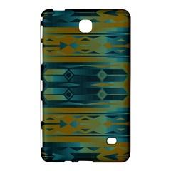 Blue green gradient shapes                                       			Samsung Galaxy Tab 4 (8 ) Hardshell Case by LalyLauraFLM