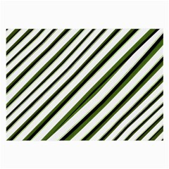 Diagonal Stripes Large Glasses Cloth (2 Side) by dflcprints