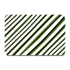 Diagonal Stripes Plate Mats by dflcprints