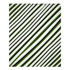 Diagonal Stripes Shower Curtain 60  X 72  (medium)  by dflcprints