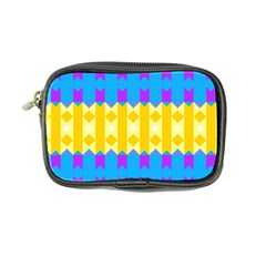 Rhombus And Other Shapes Pattern                                          coin Purse by LalyLauraFLM