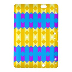 Rhombus And Other Shapes Pattern                                          kindle Fire Hdx 8 9  Hardshell Case by LalyLauraFLM