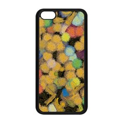 Paint Brushes                                          apple Iphone 5c Seamless Case (black) by LalyLauraFLM