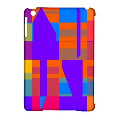 Misc Colorful Shapes                                           			apple Ipad Mini Hardshell Case (compatible With Smart Cover) by LalyLauraFLM