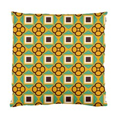 Flowers And Squares Pattern                                            standard Cushion Case (two Sides) by LalyLauraFLM