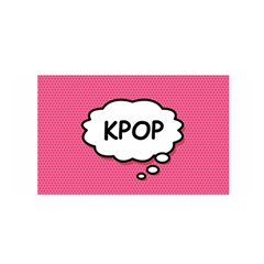 Comic Book Think Kpop Pink Satin Wrap by ComicBookPOP