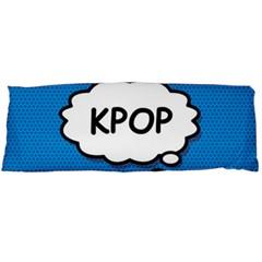 Comic Book Kpop Blue Body Pillow Case (dakimakura) by ComicBookPOP
