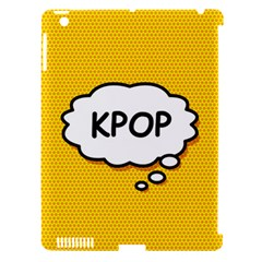 Comic Book Kpop Orange Apple Ipad 3/4 Hardshell Case (compatible With Smart Cover) by ComicBookPOP