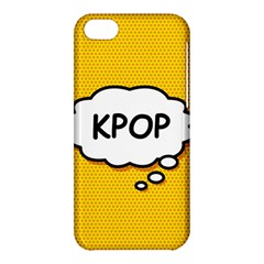 Comic Book Kpop Orange Apple Iphone 5c Hardshell Case by ComicBookPOP
