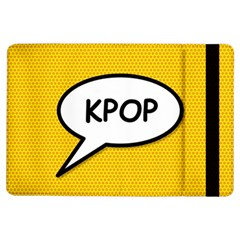 Comic Book Shout Kpop Orange iPad Air Flip by ComicBookPOP
