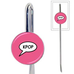 Comic Book Shout Kpop Pink Book Mark by ComicBookPOP