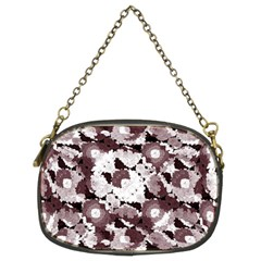Ornate Modern Floral Chain Purses (two Sides)  by dflcprints