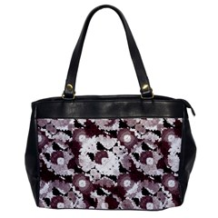 Ornate Modern Floral Office Handbags by dflcprints