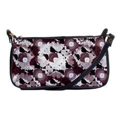 Ornate Modern Floral Shoulder Clutch Bags by dflcprints