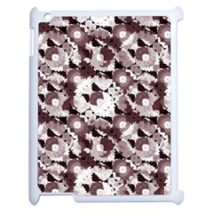 Ornate Modern Floral Apple Ipad 2 Case (white) by dflcprints