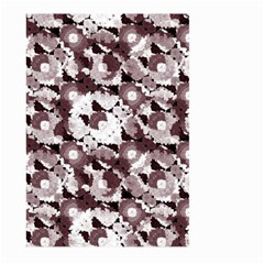 Ornate Modern Floral Large Garden Flag (two Sides) by dflcprints