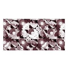 Ornate Modern Floral Satin Shawl by dflcprintsclothing