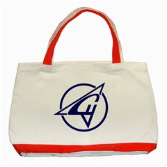Sukhoi Aircraft Logo Classic Tote Bag (Red) by Casanova