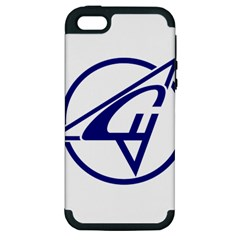Sukhoi Aircraft Logo Apple iPhone 5 Hardshell Case (PC+Silicone) by Casanova