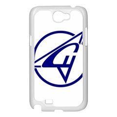 Sukhoi Aircraft Logo Samsung Galaxy Note 2 Case (White) by Casanova