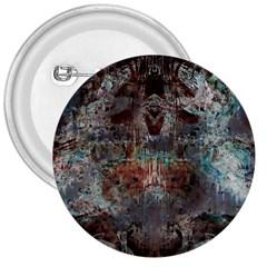Metallic Copper Patina Urban Grunge Texture 3  Button by CrypticFragmentsDesign
