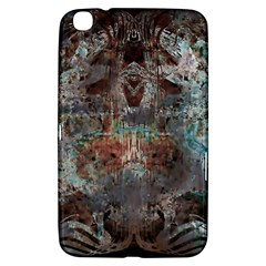 Metallic Copper Patina Urban Grunge Texture Samsung Galaxy Tab 3 (8 ) T3100 Hardshell Case  by CrypticFragmentsDesign