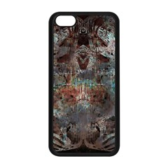 Metallic Copper Patina Urban Grunge Texture Apple Iphone 5c Seamless Case (black) by CrypticFragmentsDesign