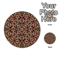 Boho Chic Multi Purpose Cards (round)  by dflcprints