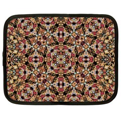 Boho Chic Netbook Case (xxl)  by dflcprints