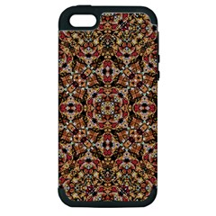 Boho Chic Apple Iphone 5 Hardshell Case (pc+silicone) by dflcprints