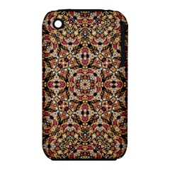 Boho Chic Apple Iphone 3g/3gs Hardshell Case (pc+silicone) by dflcprints