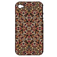 Boho Chic Apple Iphone 4/4s Hardshell Case (pc+silicone) by dflcprints