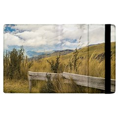 Trekking Road At Andes Range In Quito Ecuador  Apple Ipad 3/4 Flip Case by dflcprints