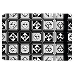 Black And White Ipad Air Flip by FunkyPatterns
