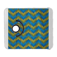 Blue And Yellow Samsung Galaxy S  Iii Flip 360 Case by FunkyPatterns
