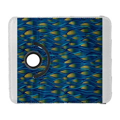 Blue Waves Samsung Galaxy S  Iii Flip 360 Case by FunkyPatterns