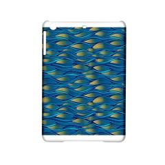 Blue Waves Ipad Mini 2 Hardshell Cases by FunkyPatterns