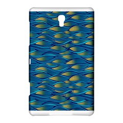 Blue Waves Samsung Galaxy Tab S (8 4 ) Hardshell Case  by FunkyPatterns