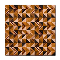 Brown Tiles Tile Coasters by FunkyPatterns