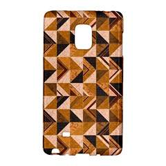 Brown Tiles Galaxy Note Edge by FunkyPatterns