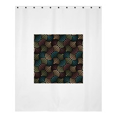 Glowing Abstract Shower Curtain 60  X 72  (medium)  by FunkyPatterns