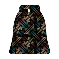 Glowing Abstract Bell Ornament (2 Sides) by FunkyPatterns
