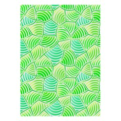 Green Glowing 5 5  X 8 5  Notebooks by FunkyPatterns