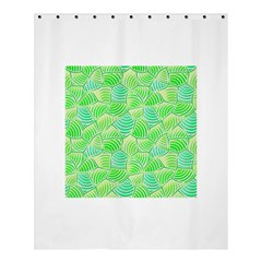 Green Glowing Shower Curtain 60  X 72  (medium)  by FunkyPatterns