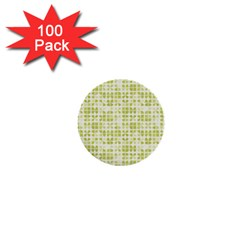 Pastel Green 1  Mini Buttons (100 Pack)  by FunkyPatterns
