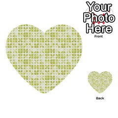 Pastel Green Multi Purpose Cards (heart)  by FunkyPatterns